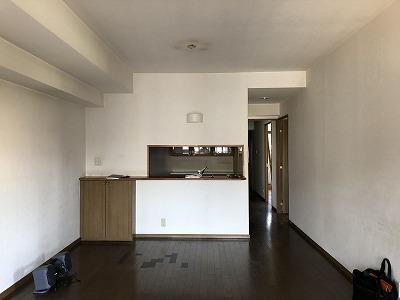 20180929マンションリノベ見学会施工前