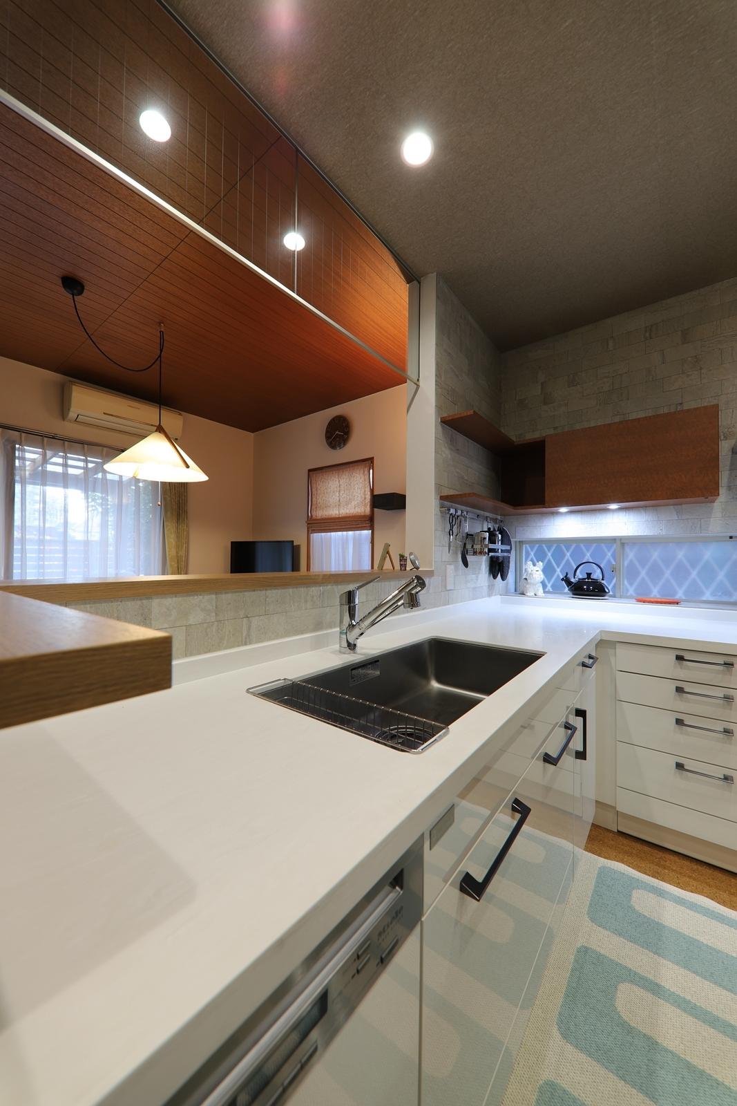 L型キッチン3