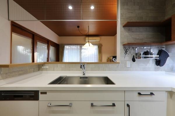L型キッチン4