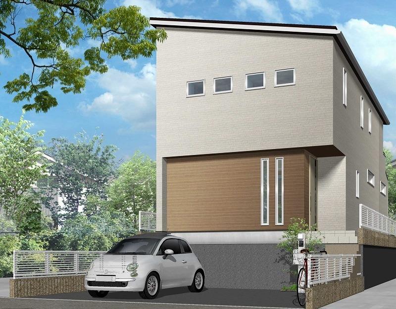 名古屋市緑区 注文住宅完成見学会 イメージパース
