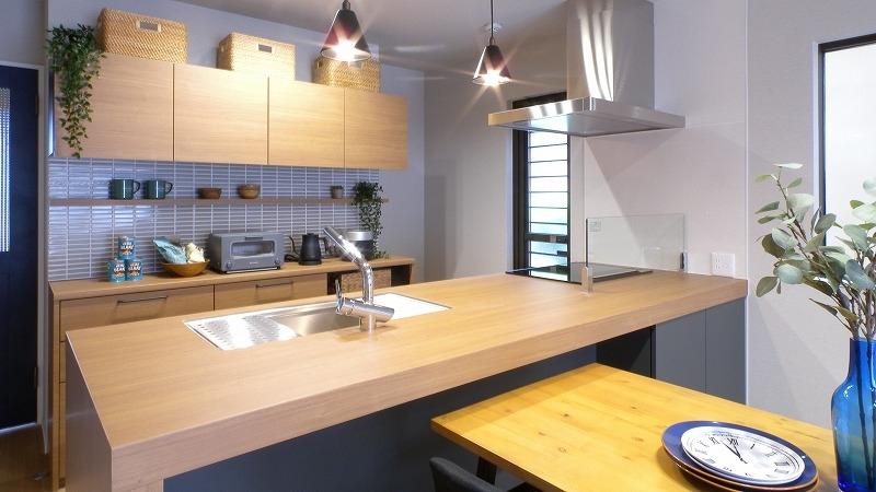 名古屋市緑区 注文住宅完成見学会 オーダーキッチン