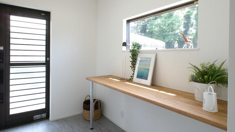 注文住宅 室内干しスペース