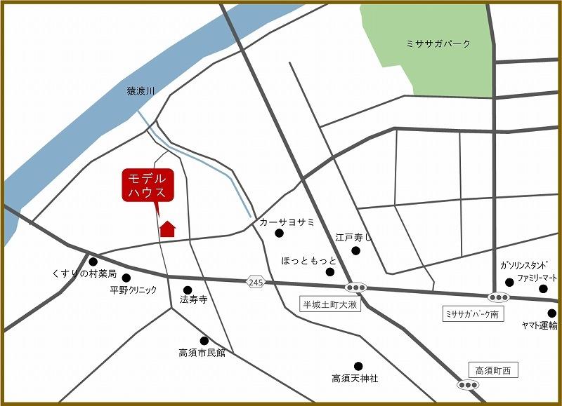 20191214.15家づくり相談会 地図