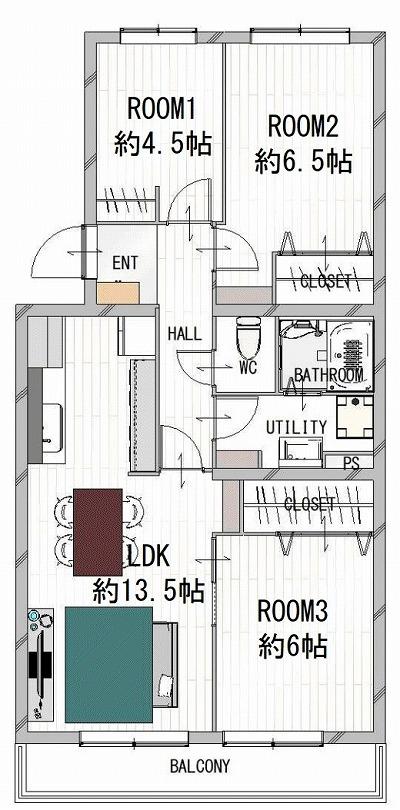 202005300607マンションリノベ完成見学会