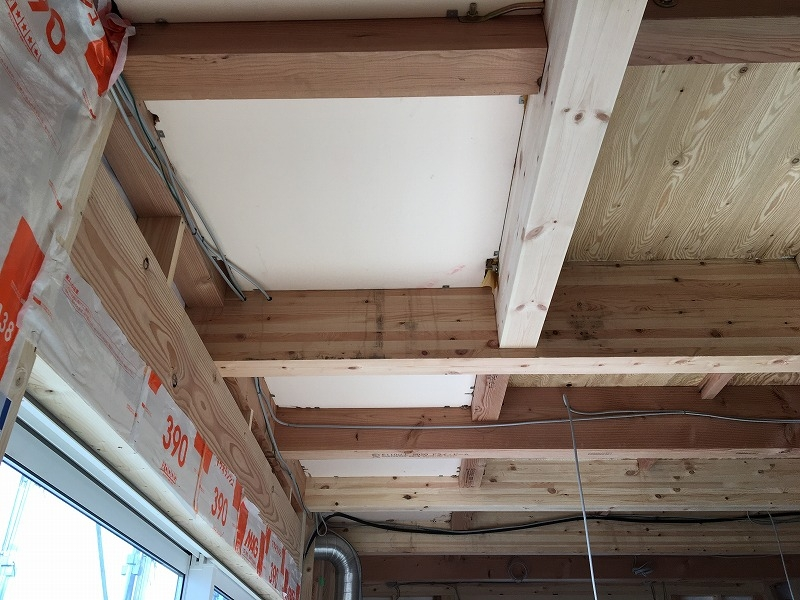 天井の断熱材