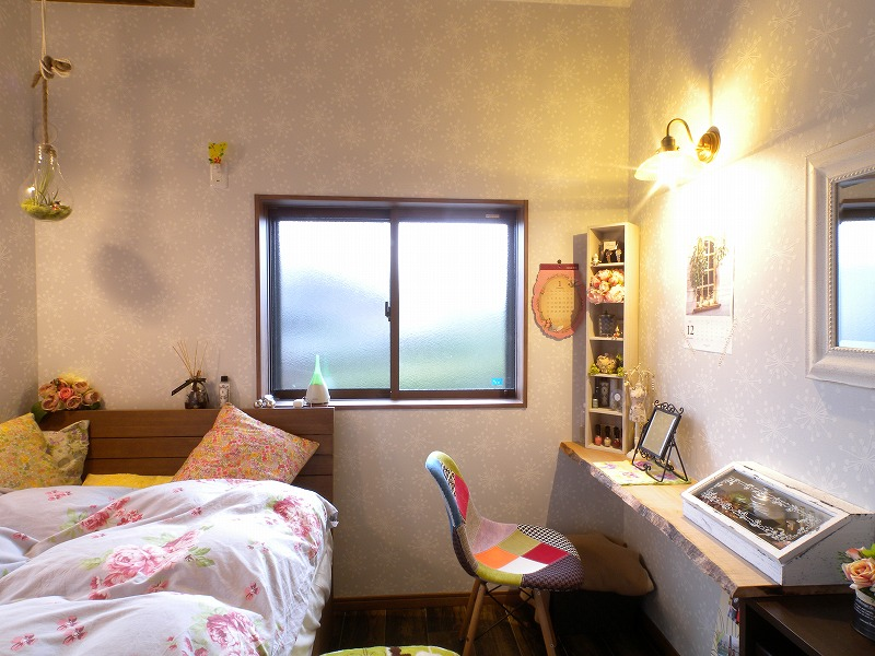 安城市 戸建てリノベ 寝室1