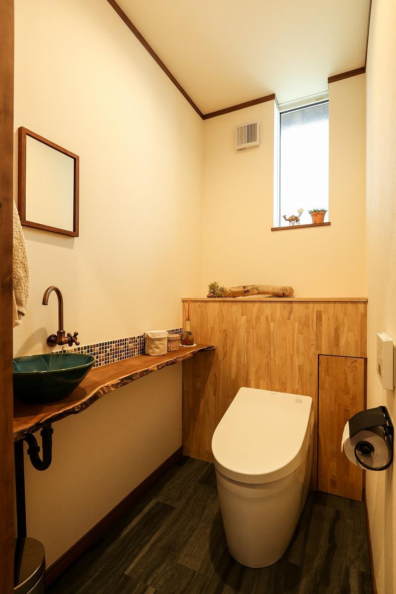 刈谷市野田町 戸建てリノベ トイレ