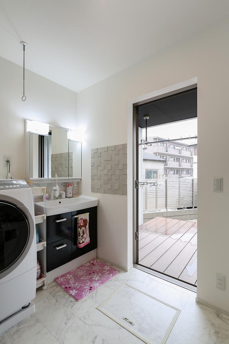 知立市 注文住宅 洗面室