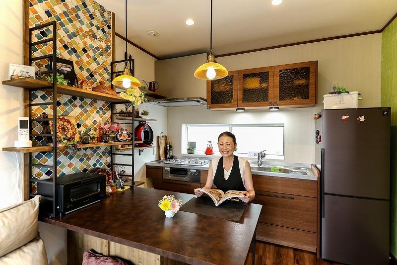 安城市 戸建てリノベ 2階キッチン
