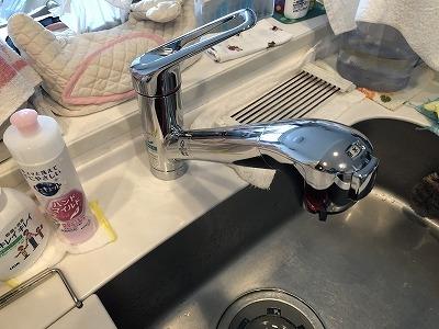 タカギ 浄水栓 施工後2