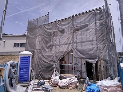 岡崎市稲熊町新築工事