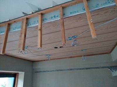 天井も段差