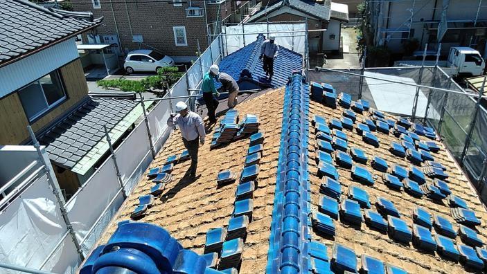 屋根重量の軽減