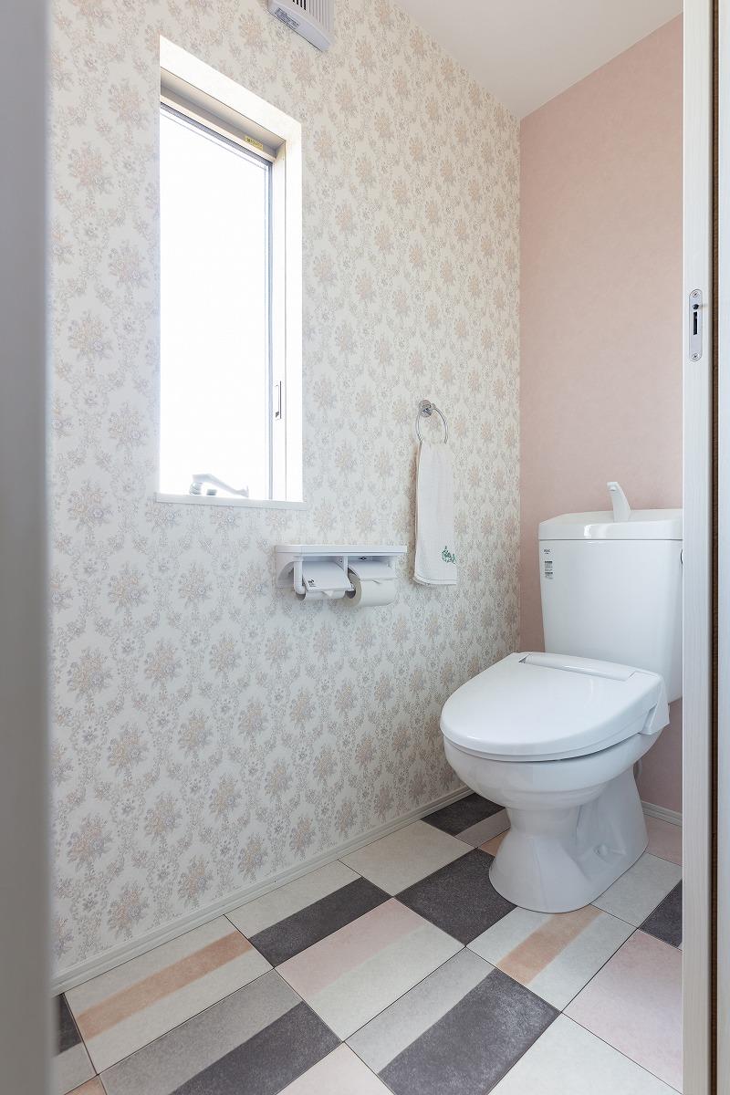 安城市高棚町 注文住宅 お客様の声 トイレ