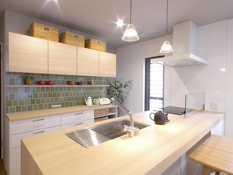 泉田の家モデルハウス オーダーキッチン