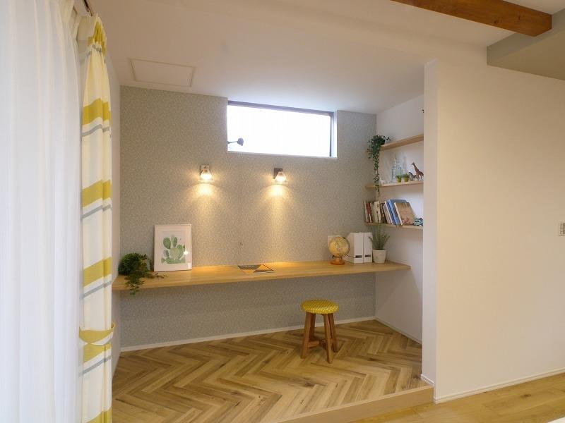 泉田の家モデルハウス ワークスペース