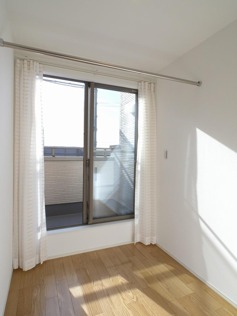 泉田の家モデルハウス 室内物干しスペース