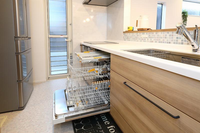 刈谷市高須町注文住宅 ミーレ食洗機