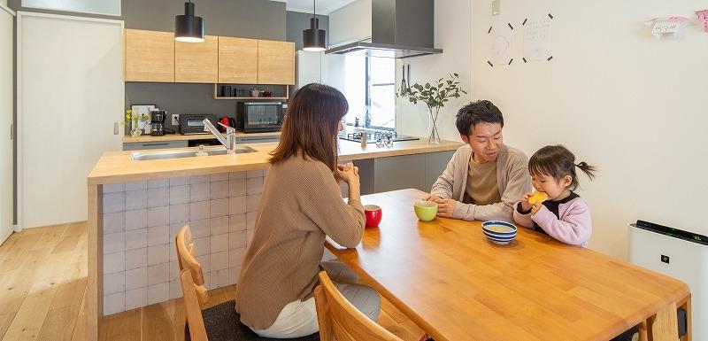 愛知県刈谷市K様邸 戸建てリノベ『気兼ねなく、ほどよい距離で互いの暮らしを大切に』