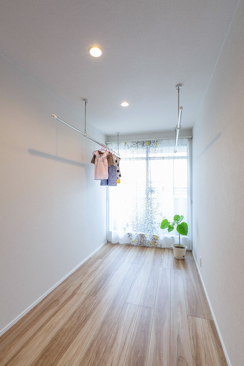 刈谷市 注文住宅 室内干しスペース