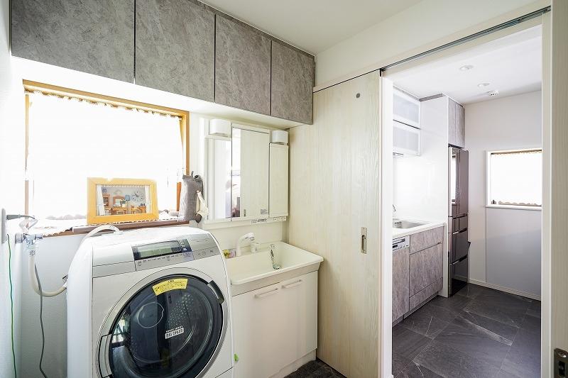 刈谷市 戸建てリノベーション 洗面脱衣室