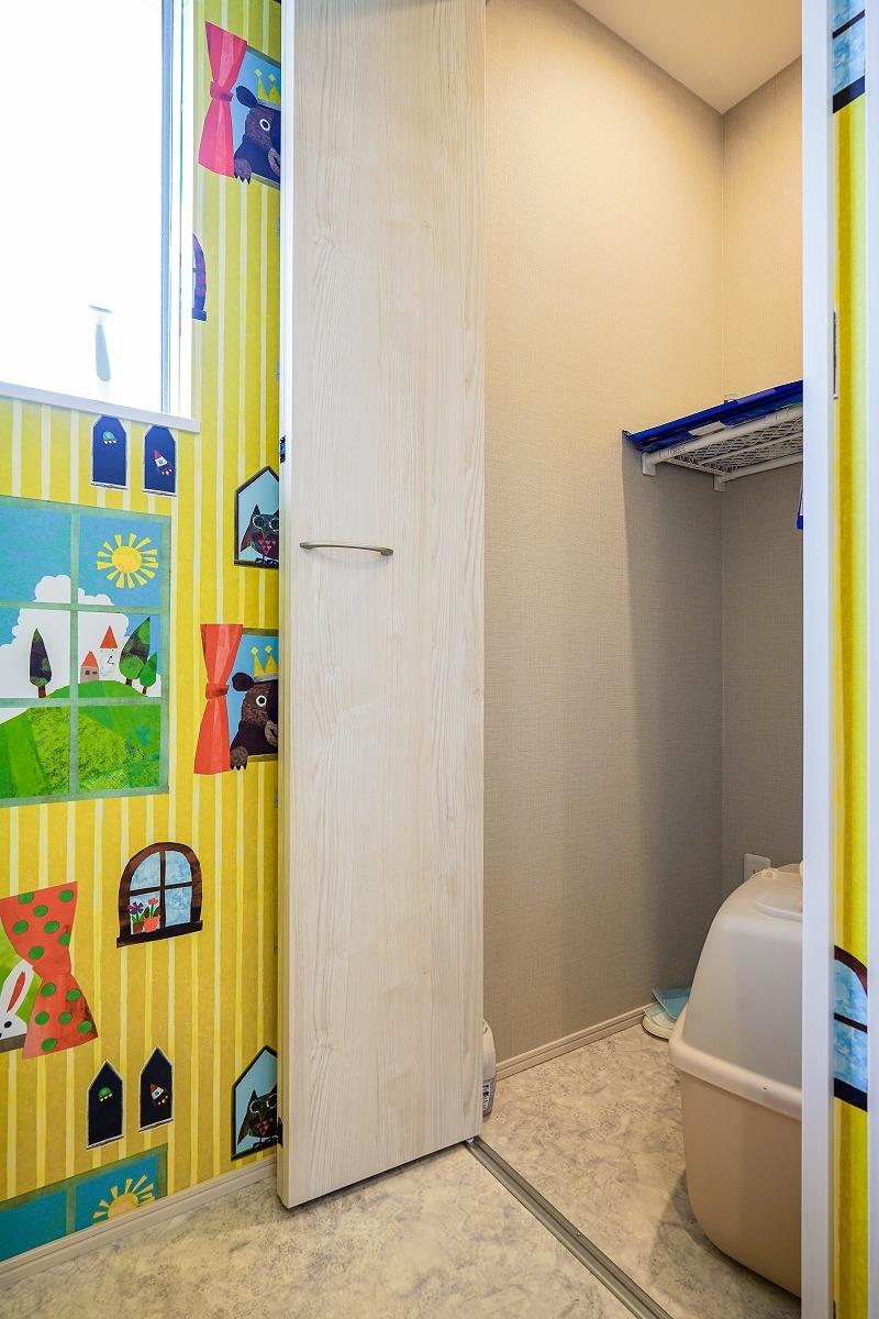 刈谷市 注文住宅 猫用トイレ