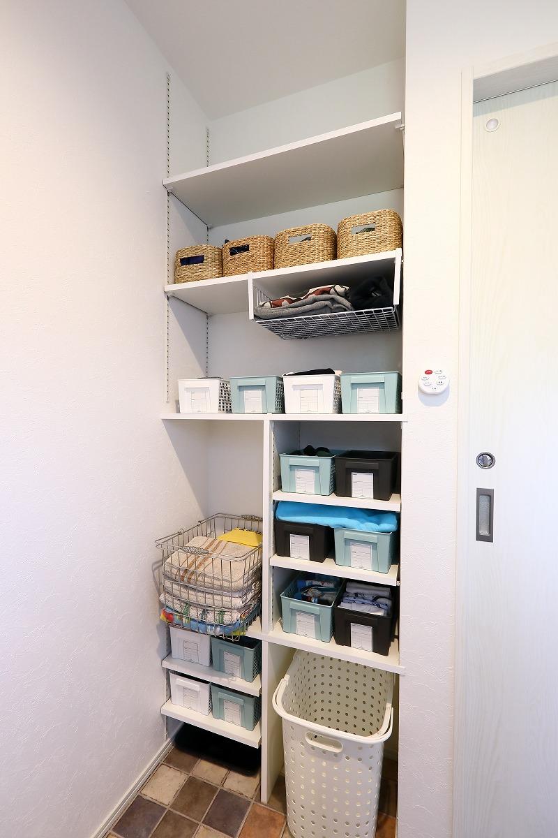 刈谷市高須町注文住宅 お客様の声 洗面脱衣室