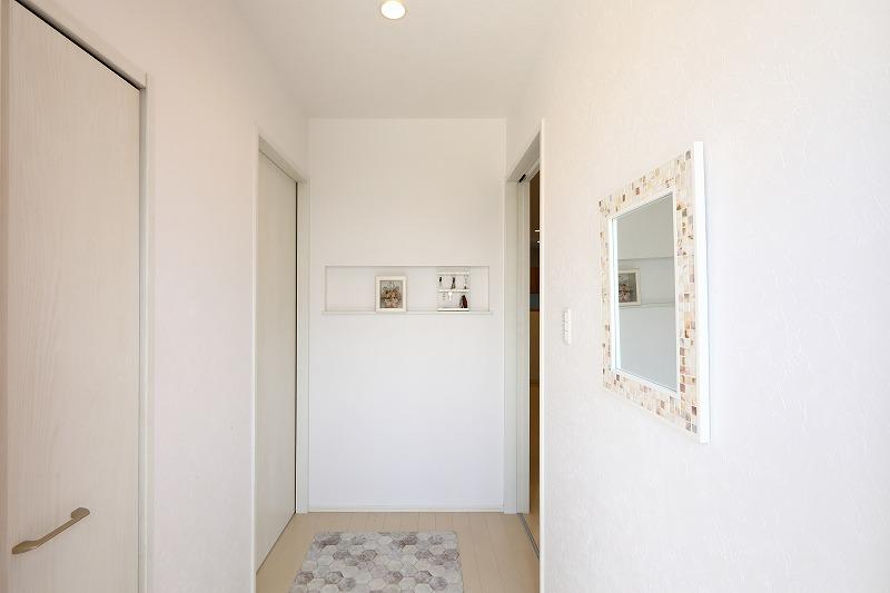 刈谷市高須町注文住宅 お客様の声 玄関