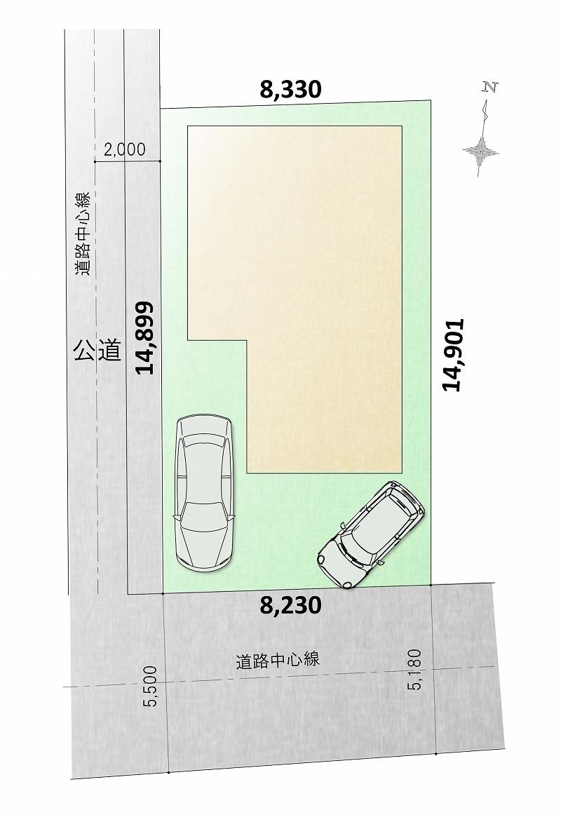 刈谷市高須町 区画図