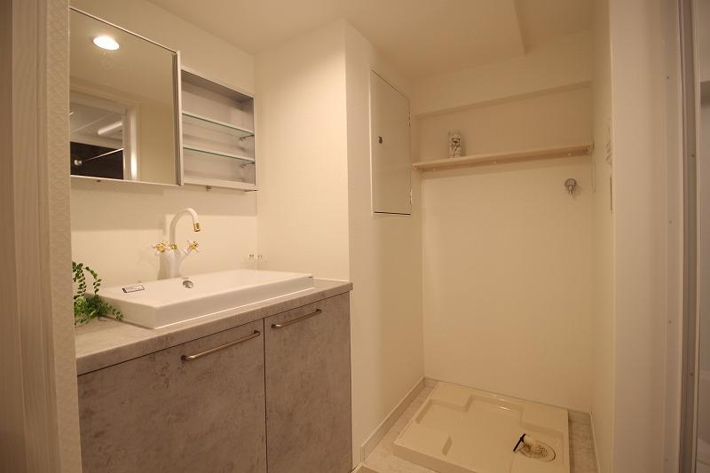 名古屋市瑞穂区 マンションリノベーション 洗面脱衣室