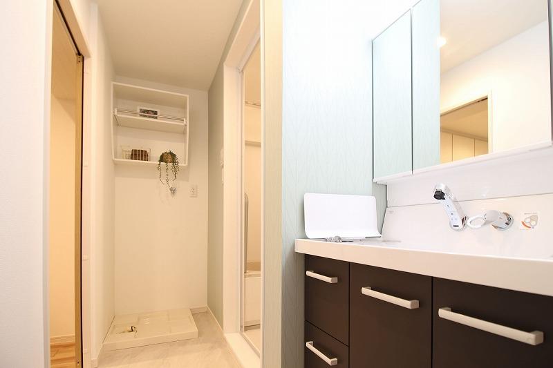 名古屋市天白区 マンションリノベ 洗面脱衣室