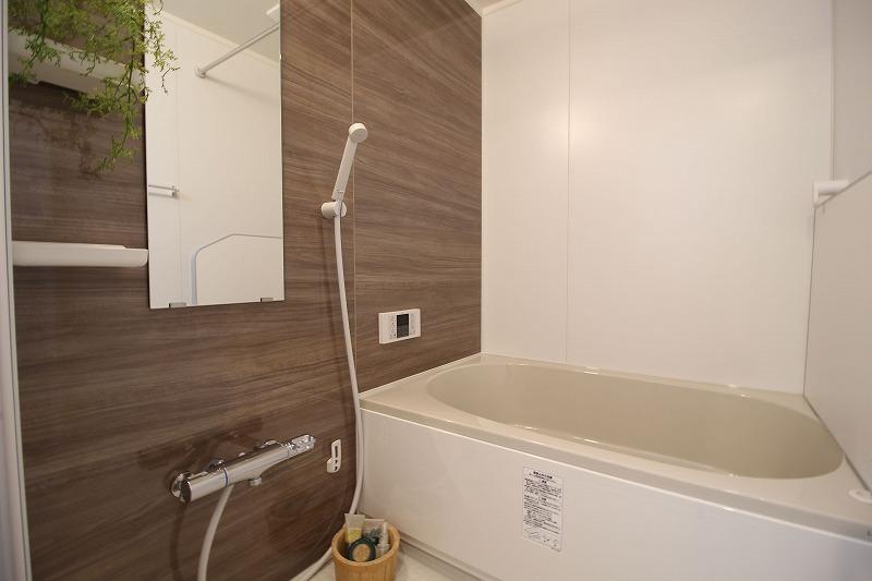 安城市今池町マンションリノベ 浴室