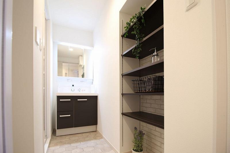 豊明市マンションリノベーション 洗面脱衣室