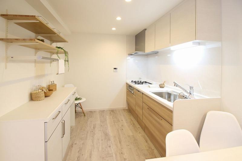 名古屋市緑区 マンションリノベ オーダーキッチン