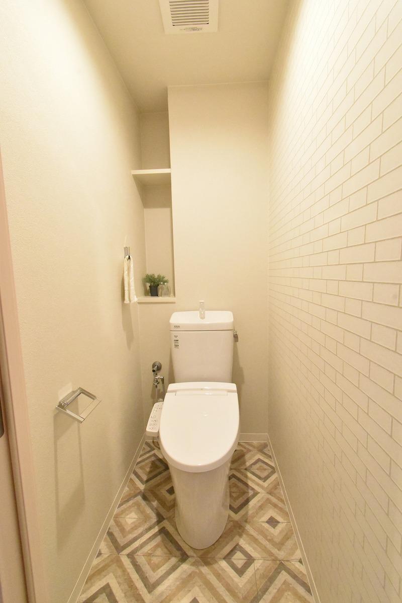 東浦町 マンションリノベ トイレ