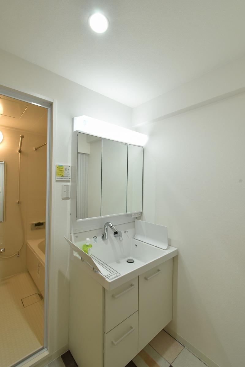 安城市 マンションリノベ 洗面脱衣室
