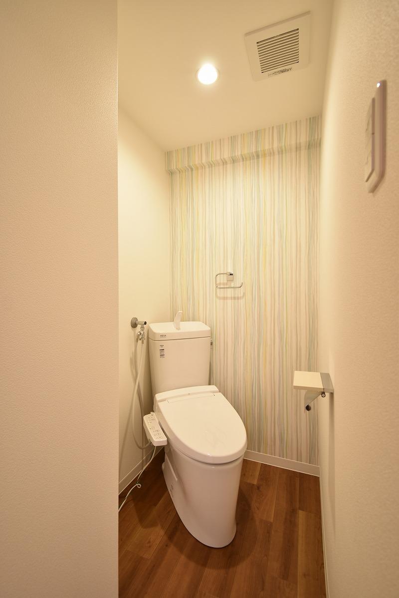 安城市 マンションリノベ トイレ