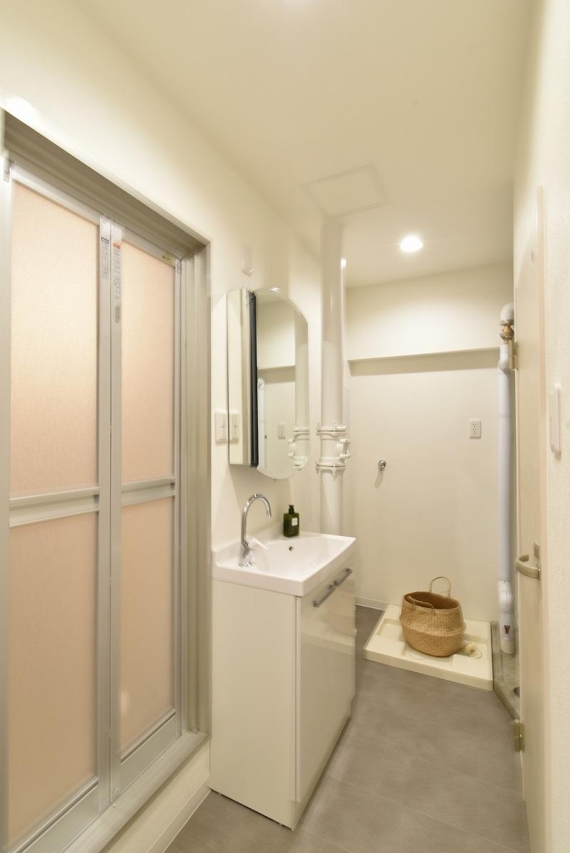 名古屋市名東区 マンションリノベ 洗面脱衣室