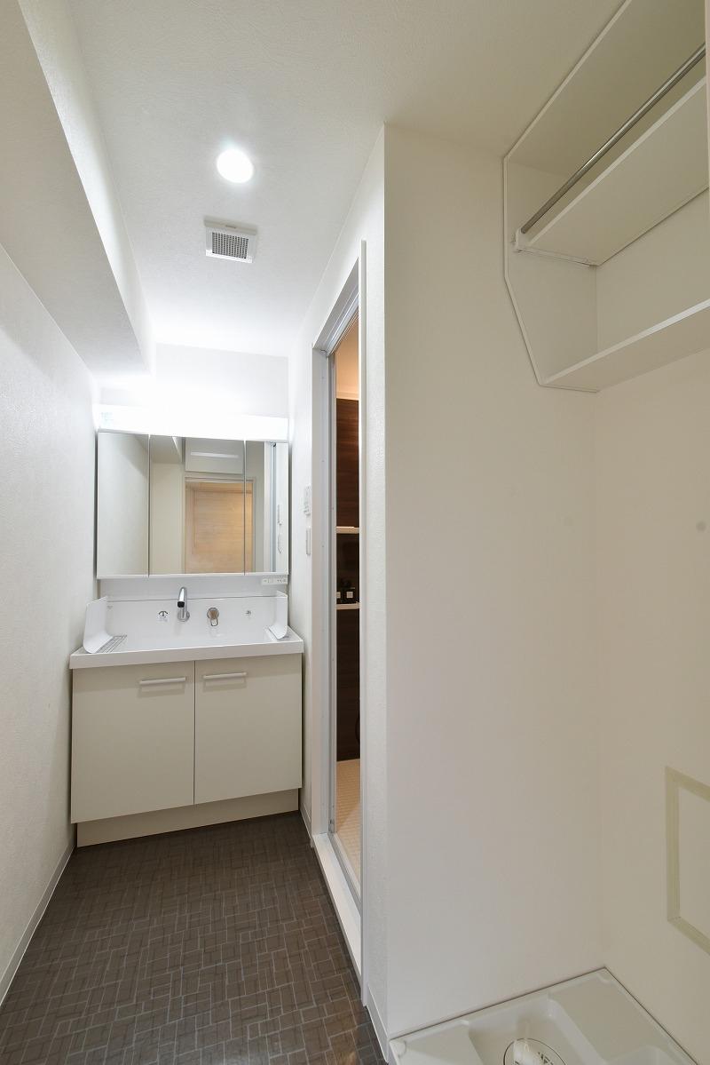 名古屋市天白区 マンションリノベーション 洗面脱衣室