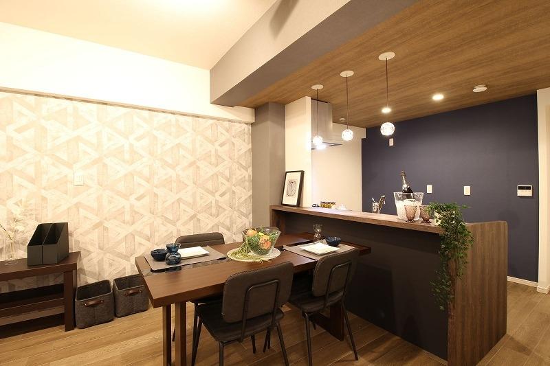 名古屋市天白区 マンションリノベーション オーダーキッチン
