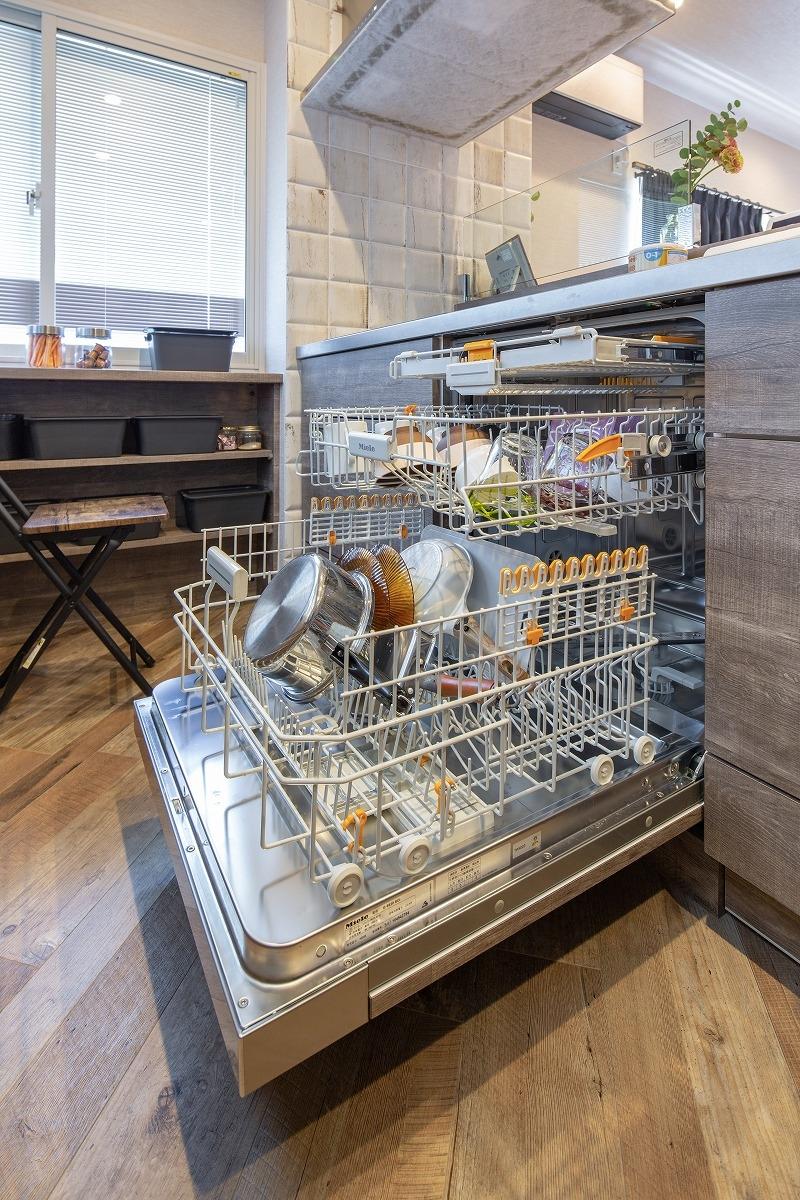 岡崎市 戸建てリノベ ミーレ食洗機