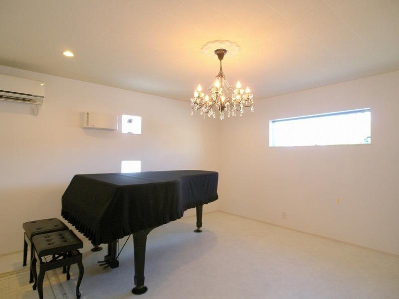 ピアノ教室部屋