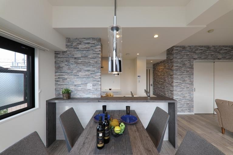 オリジナルキッチンを採用することでプランに幅が出来ます。
