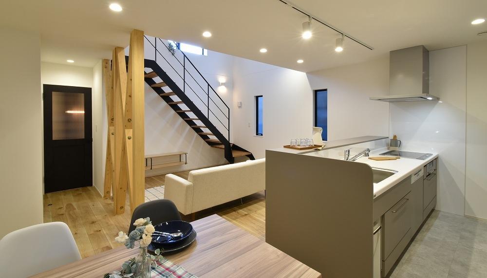 刈谷市 子育て世代が選んだスタイリッシュなコンパクトハウス