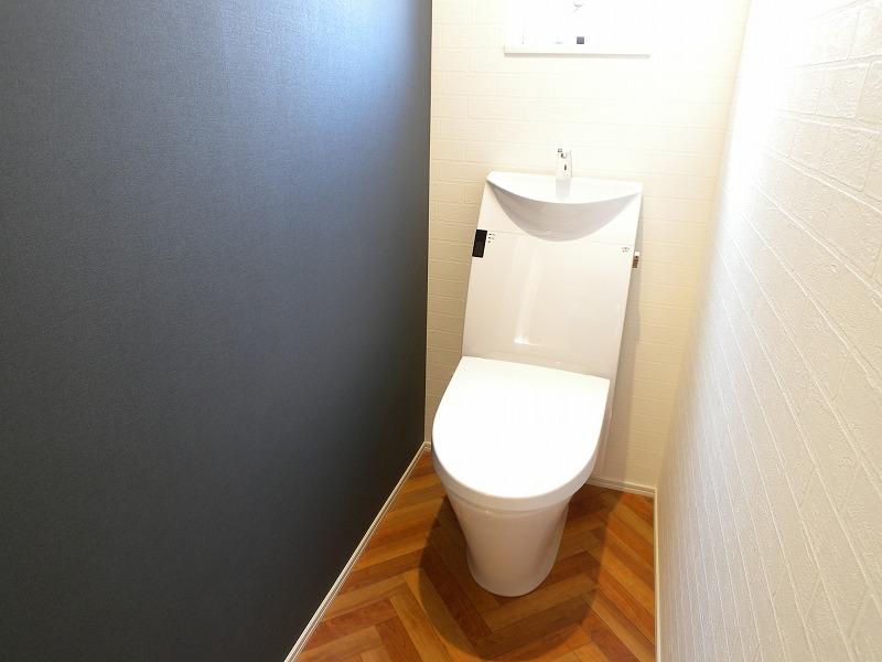 刈谷市半城土西町 注文住宅 トイレ