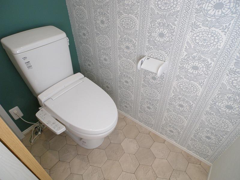 刈谷市半城土西町 注文住宅 トイレ2