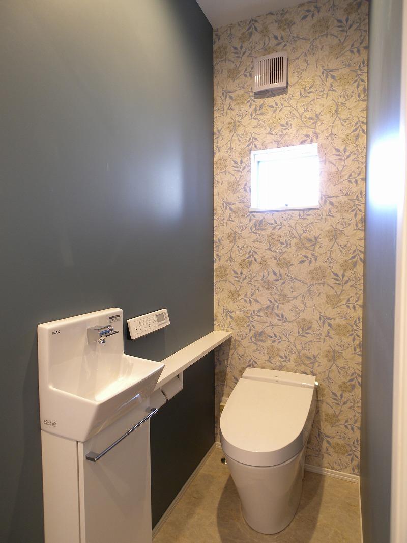 刈谷市半城土中町 注文住宅施工事例 トイレ
