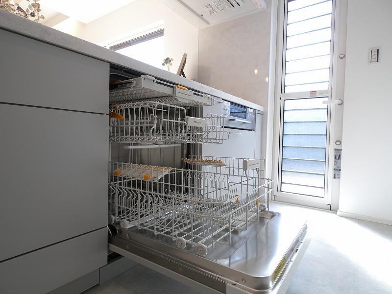刈谷市半城土中町 注文住宅施工事例 ミーレ食洗機