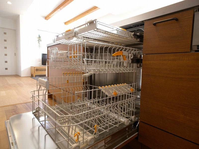 刈谷市泉田町 注文住宅 ミーレ食洗機