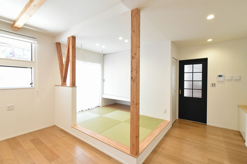 知立市 注文住宅 タタミコーナー